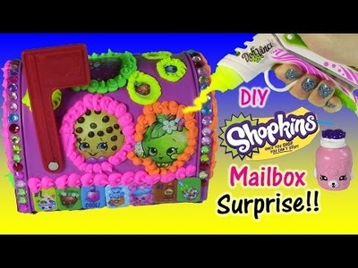 Make Your Own SHOPKINS Mailbox with DohVinci! DIY SHOPKINS Craft! Lip Balm SURPRISES!