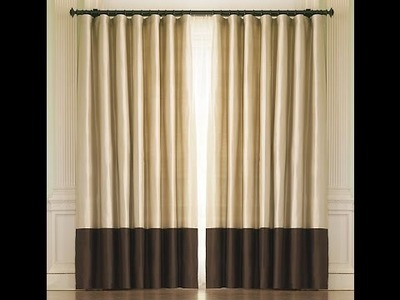 Thrifted DIY: How to make your on Two Tone Drapes