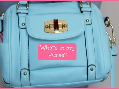 What's in my Purse (Spring Edition) | Alexa's DIY Life