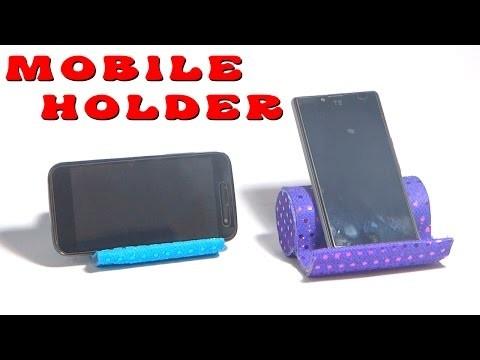 DIY Crafts - How to Make Mobile Holder