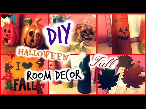 DIY Fall. HALLOWEEN Room Decor | Moni Angel