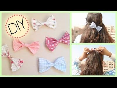 DIY No Sew Hair Bows! + Ways I wear my Bows