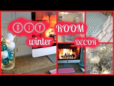 ☃ DIY Winter Room Decor ☃