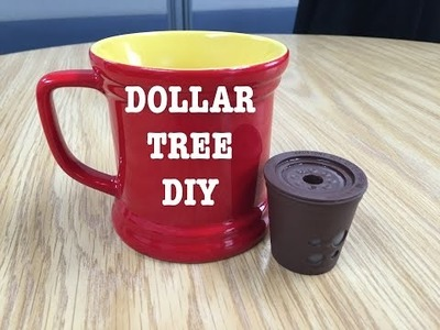 DOLLAR TREE DIY:How To Use Reusable Keurig-Style Coffee Cup | Courtney Val