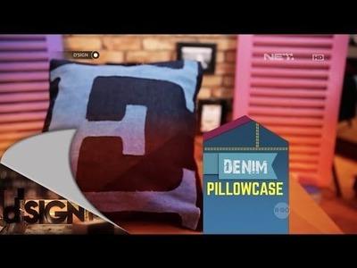 DSign - DIY - Denim Pillowcase