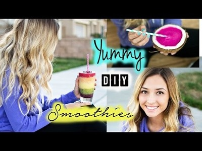 Easy & Yummy DIY Smoothies