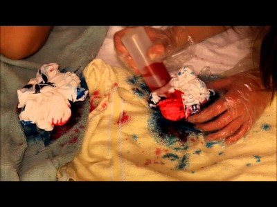 How To DIY: Tye Dye Shirt | Nicola Taylor