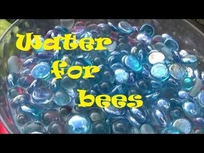Bee water bowl - Super easy DIY