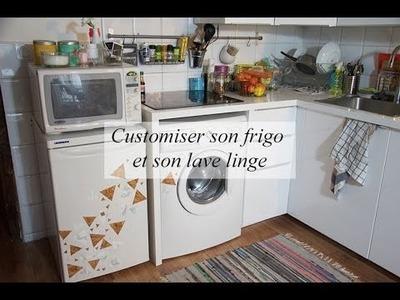 DIY déco : customiser son frigo et son lave linge