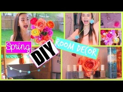 DIY Room Decor for Spring! Tumblr Inspired!  Haley Pham
