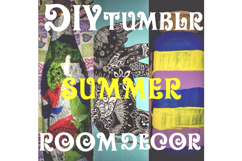 DIY: Tumblr summer room decor!