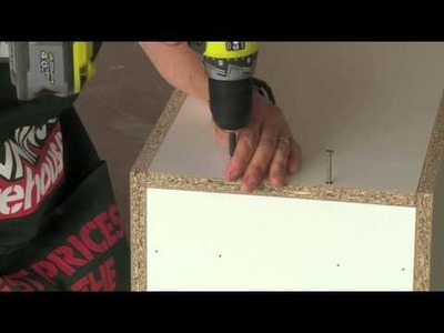 How To Assemble A Base Cabinet - DIY At Bunnings