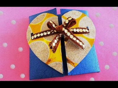 How to Make Chocolate Gift Box in 5 Mins! | DIY Gift Ideas | Paper Boxes