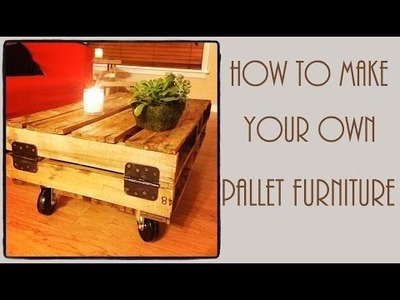 How To Make Pallet Furniture | DIY Instructions