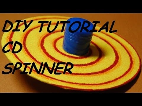 TheCRAFTER - How to make CD SPINNERS I DIY CRAFT