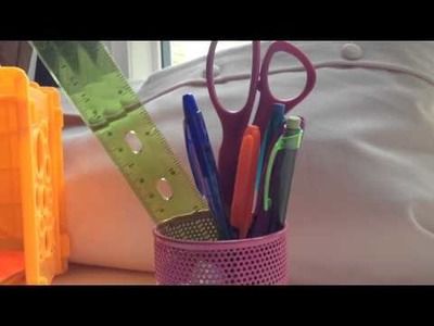 Back to school organization tips.DIY study table!!!