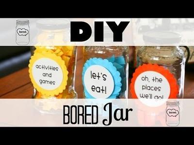 DIY Bored Jar
