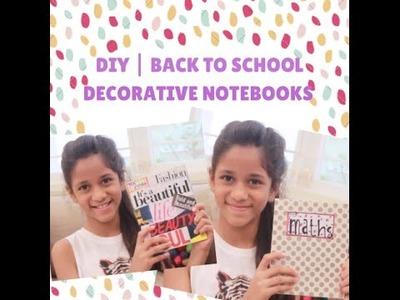 DIY | Decorative Notebooks | Back To School | The Beauty Reel
