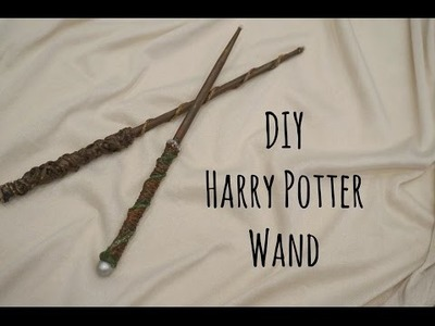 DIY easy Harry Potter wand