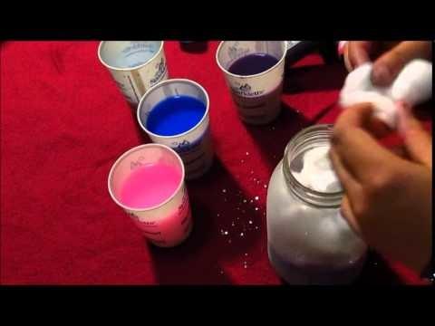 DIY:   Galaxy In a Jar