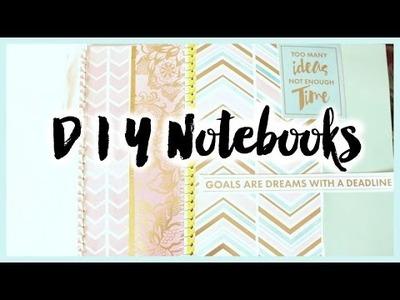 DIY Notebooks Back to School | Grace Go