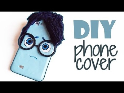 DIY | Sadness Inside Out Phone Case Tutorial - Cover Tristezza