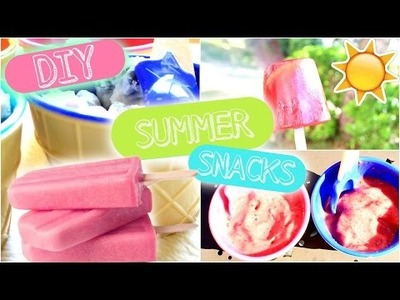 DIY Summer Snacks | Easy, Healthy, & Cheap!