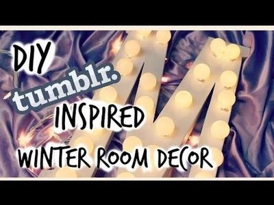 DIY Tumblr Inspired Winter Room Decor