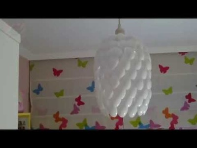 How to Make Spoon Lamp DIY Homemade Experiment