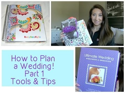 How to Plan a Wedding  DIY Planning Book  Episode 1- Tools & Tips