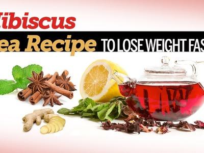 Lower Blood Pressure With Hibiscus Tea - DIY Hibiscus Tea Recipe