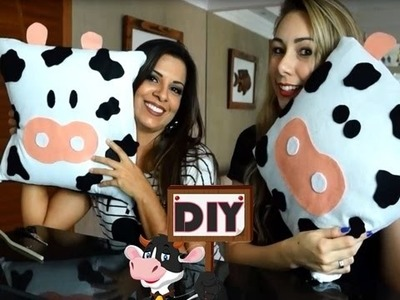 DIY: ALMOFADA DE VACA Feat. EVELYN REGLY | veda3