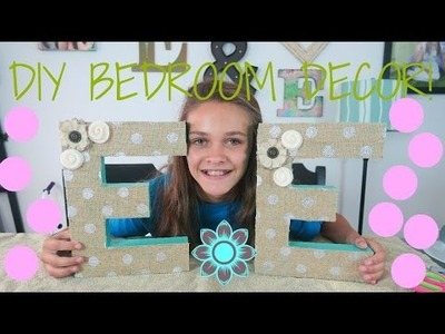 DIY BEDROOM DECOR!