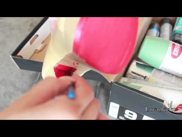 DIY  Create your own Christian Louboutin inspired pumps