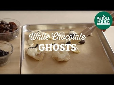 DIY Halloween Recipe: White Chocolate Ghosts | Fall Cooking l Whole Foods Market