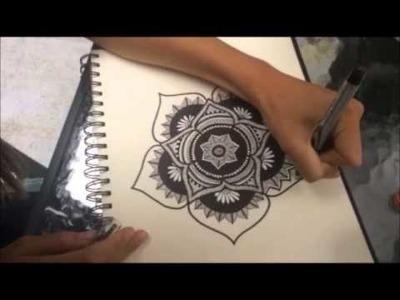 DIY How to Make a Mandala Design
