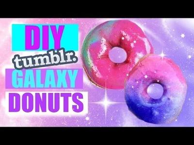 DIY Tumblr Inspired Galaxy Donuts