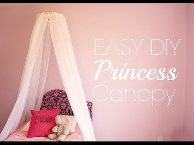 Easy DIY Princess Canopy