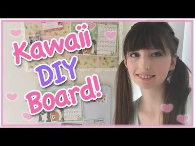 Kawaii DIY Bulletin Board [Back to School] with Rilakkuma!