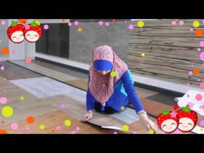 The Easy Way To Install DIY VINYL FLOORING from Maru World Sts Sdn Bhd