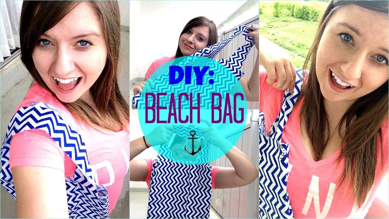 ☼ DIY: Beach Bag.Tote Bag for SUMMER