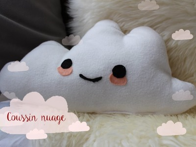 DIY : Coussin nuage ☁️
