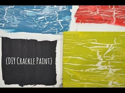 {DIY Crackle Paint}