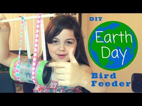 DIY Earth Day Bird Feeder | JazlynnAlexia