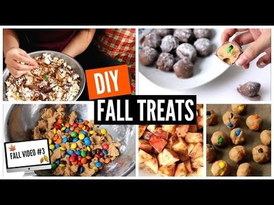 DIY ♡ FALL TREATS, CHEAP & EASY #Fall2015