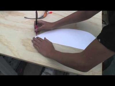 DIY Handboard for bodysurfing by Cade