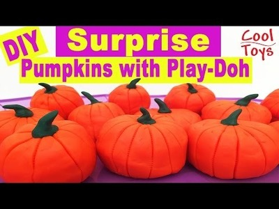DIY Surprise Pumpkins for Kids on Halloween with Play Doh by CoolToys