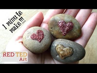 Easy DIY Love Rocks for Valentine's Day