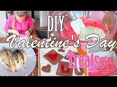 Easy&Tasty DIY Valentine's Day Treats