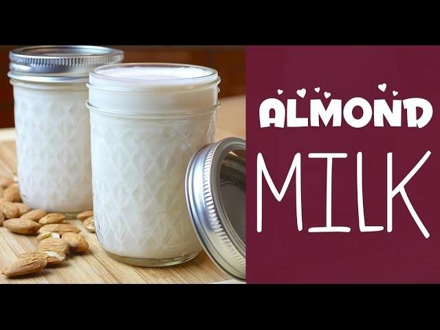 Easy Vegan Recipe | DIY Almond Milk